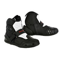 Motorbike Boots Motorcycle Waterproof Leather Textile Biker CE Armoured Thermal