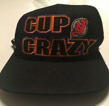 NJ New Jersey Devils CUP CRAZY Hat 1995 Stanley Cup