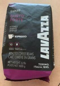 Lavazza Gusto Forte Espresso Roasted Coffee Beans 2.2 lbs BB 3/21 (MC)