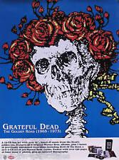 Grateful Dead 2001 The Golden Road 1965-1973 Original Promo Poster