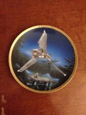 Star Wars Space Vehicles Imperial Shuttle collector plate