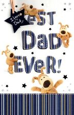 Best Dad Ever ' Official Boofle Father's Day Card Greeting Cards Fathers