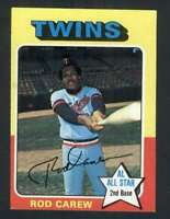 1975 Topps #600 Rod Carew NM/NM+ Twins 114742