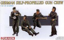 Dragon 1/35 6367 WWII German Self-Propelled Gun Crew (4 Figures)