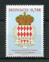 Monaco 2018 MNH Saint Roman Feast Committee 150th Anniv 1v Set Emblems Stamps