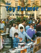 1988 The Toy Farmer Magazine: May It's Show Time Minnesota Hotbed of Collectors