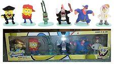 Set lotto 6 pupazzi SpongeBob SquarePants mini figure collection serie 2