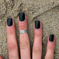sterling silver knuckle ring tribal above knuckle ring adjustable midi ring T64