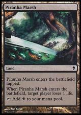 MTG Magic - (C) Zendikar - Piranha Marsh - SP
