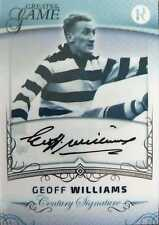 2017 Regal GREATS OF THE GAME - CENTURY Signature - Geoff WILLIAMS #61/100 Cats