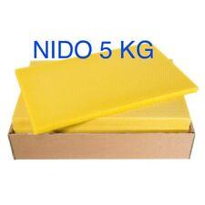 Fogli cerei. cera  per nido - confezione 5 kg X Arnia Celle 5.3 Apicoltura