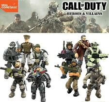 Mega Construx Call of Duty Series 4,5,6 Specialists Heroes Army builders HTF