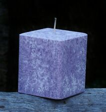 200hr DRIFTWOOD & SEA SALT Ocean Waters Scented Square CANDLE Bevelled Edges