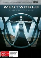 Westworld Season 1 One First: The Maze DVD NEW Region 4