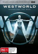 Westworld : Season 1 (DVD, 2017, 3-Disc Set)