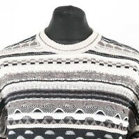 90s Vintage Cosby Sweater | Jumper Knit 3D Hip Hop Retro