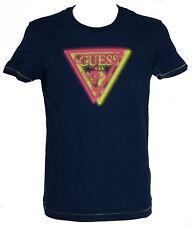 Maglietta t-shirt girocollo uomo GUESS a.F52I11 T.XXL c.U138 BLUE