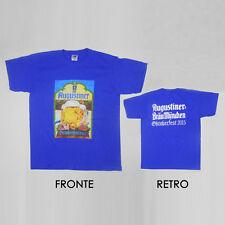 T-SHIRT Birra Augustiner Oktoberfest 2015 maglietta mezze maniche cotone - tg M