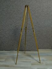 Soviet Era tripod for camera FKD Telescopic tripod Sliding tripod Wooden USSR