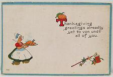Thanksgiving 1914 Augusta US Postage 1c - USA Postcard AK Postkarte (A2471)