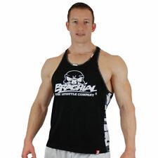 Brachial Tank-Top Chest Black Fitness Bodybuilding