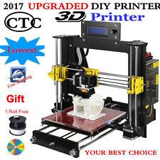 2017 Latest Upgraded Quality High Precision Reprap Prusa i3 DIY 3d Printer PLA