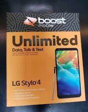 BRAND NEW BOOST MOBILE LG Stylo 4 32 GB Smart Phone