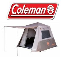 COLEMAN INSTANT UP 4P TENT FULL FLY 4 PERSON TOURER CAMPING TENTS
