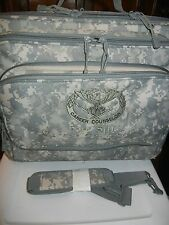 Military Laptop Carry Case Computer Notebook Bag Briefcase w/Wheels CAMO FORTSIL