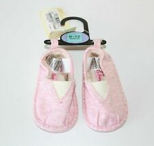 Baby Girls M&S BABY Espadrilles Pram Pink Textile Shoes Shoes 6 - 12 Months NEW
