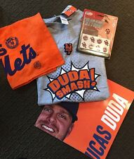 NY Mets T-shirt Duda 2016 Citifield Giveaway + Tattoos + Rally Towel + Poster