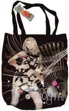 Girls Hannah Montana Tote Shopper Bag with Shoulder Straps
