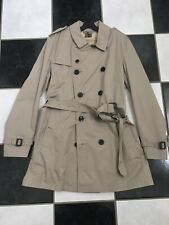 NWT 100% AUTH Burberry Men's Brit Britton Double Breasted Trench Coat XL $895