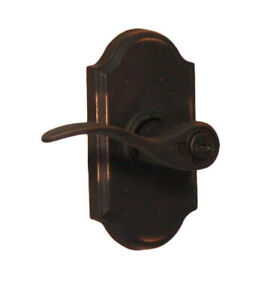 Weslock L7140H1H1SL23SL23 Molten Series Carlow Lever | Oil-Rubbed (left-handed)
