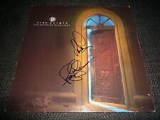 Deep purple ian paice & Roger Glover autógrafo the House of Blue Light inperson