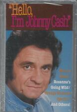 HELLO, I'M JOHNNY CASH Man In Black Daddy Sang Bass Ira Hayes  NEW CASSETTE