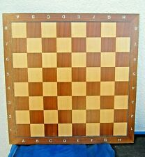 * dekoratives altes schachbrett holz 46x46 cm