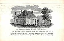 Hanover Virginia view of the old Hanover County Court House antique pc (Y4604)