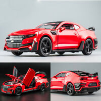 1:32 Camaro Alloy Diecast Model Car Collection Toys for Kids Araba Gift