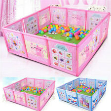 Cartoon Children Kids Play Pen Fence Baby Safety Pool Baby Game Toddler Craw Us