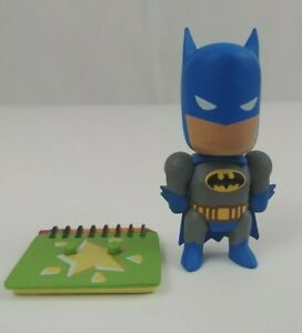 "Scribblenauts Unmasked DC Comics Mini-Figures Blue Batman 3"" Figure Rare"