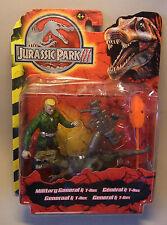 JP Action Figur Jurassic Park III GENERALl & T-REX 2001 Hasbro OVP