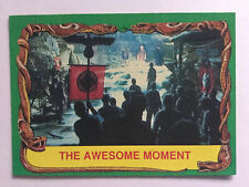 Indiana Jones Raiders Of The Lost Ark Topps 1981 Card 83 Awesome Moment