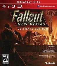 Fallout New Vegas: Ultimate Edition [PlayStation 3 PS3, Greatest Hits, All DLC]