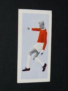 FOOTBALL FLEETWAY TIGER CARD 1963 #15 DENIS LAW SCOTLAND MANCHESTER UNITED