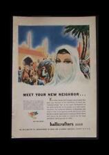 1944 Hallicrafters WWII Radio Ad Persia Veil Minarets