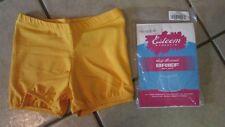 Esteem Athletic Youth Boy Cut Brief-Gold- L-Cheerleading Uniform/Bloomers (B 1)