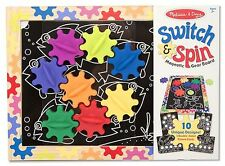 Melissa & Doug Switch and Spin Magnetic Gear Board #3745 New