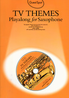 TV THEMES For Alto Saxophone Sax Sheet Music Book & Backing CD Shop Soiled