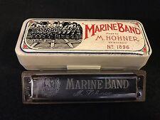 Hohner Marine Band Harmonica No.1896 Key of 'C' Original Case ~ Made in Germany